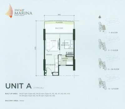 Unit A Floor Plan