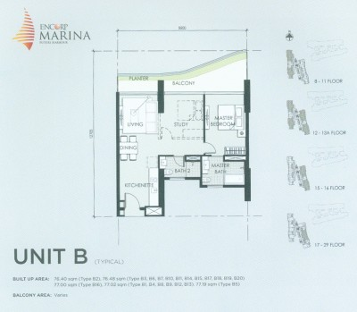 Unit B Floor Plan