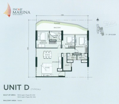 Unit D Floor Plan