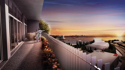 Artist Impression of Balcony View